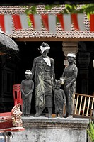 Statue for family planning, Ubud, Bali, Indonesia