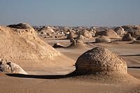 The White Desert, Farafra Oasis, Egypt, North Africa, Africa