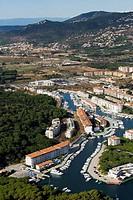 Spain, Catalonia, Girona, Baix Empordà, Costa Brava, Platja d´Aro. Marina de Port d´Aro
