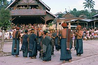 Toba Batak ceremony, Sumatra, Indonesia, Southeast Asia, Asia