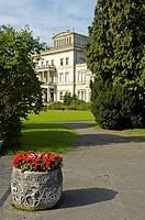 Former residence of the industrial family krupp, Villa Huegel, Essen, Ruhrgebiet, North Rhine-Westphalia, Germany