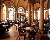 Inside of Cafe Central, Vienna, Austria