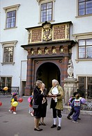 Yard of the Old Hofburg - Vienna - Austria