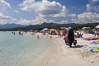 Cala Brandinchi Beach eastcoast Sardinia Italy