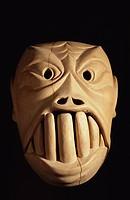 Aboriginal mask, Malaysia, Southeast Asia, Asia