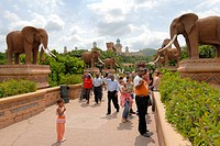The Bridge of Time, Sun City, South Africa, Africa