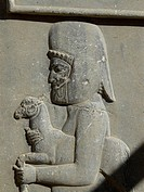 Relief at Persepolis. Fars province, Iran