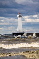 Sodus Outer Lighthouse, Sodus Point, Greater Rochester Area, New York State, United States of America, North America