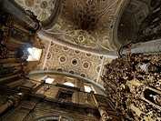 Iglesia de Santo Domingo Ceiling. Puebla, México.