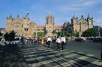 Victoria Railway Station Victoria Terminus, Mumbai Bombay, Maharashtra State, India, Asia