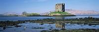 Castle Stalker near Port Appin, Western Highlands, Scotland, United Kingdom, Europe