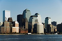 Business district, Lower Manhattan, New York City, New York, United States of America, North America