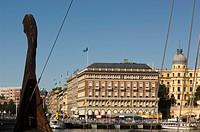 Centre of Stockholm, Sweden