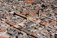 Aerial view, Potosi, Bolivia, South America