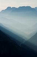 Sunrise, Dolomites, Italy, Europe