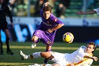 adrian mutu,florence 11_01_2009,italian soccer championship serie a,fiorentina_lecce 1_2,photo maurizio di ciuccio/markanews
