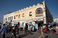 Place du 27 Juin 1977 Place Menelik at the heart of the European Quarter, Djibouti City, Djibouti, Africa