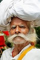 Pilgrim, Gangotri town, Uttarakhand, India