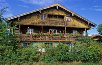 Old farmhouse in Ascholding Bavaria Germany