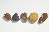 five pebbles _ cut out