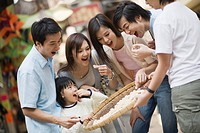 Family Eating Cookies