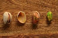 Components of a pistachio