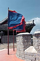 south korea, Traditional Korean castle, suwonseong