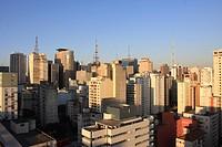 Buildings, Urban Landscape, São Paulo, Brazil