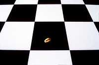 Chess board (checkerboard, cequerboard) with one grain of wheat. Story (legend) of the Indian king Shihram and the wise man Sissa bin Dahir