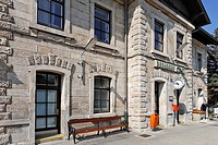 Train station, Berndorf, Lower Austria, Austria, Europe