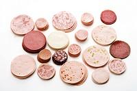 Sausage varieties, cold cuts