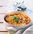 Ribollita Reheated bean soup, Italy