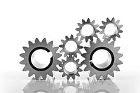 Cogs, symbolic for teamwork
