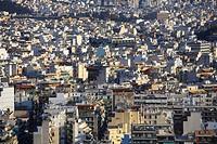 A sea of houses, Athens, Greece, Europe