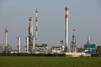 Natural Gas Station OMV in Aderklaa, Lower Austria, Austria, Europe