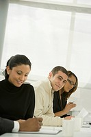 Multi_ethnic business people in meeting