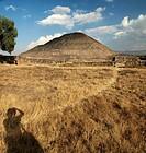 Pyramid of the Sun. Teotihuacán. México.
