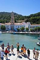 Panormitis Bay, Simi. Dodecanese islands, Greece
