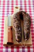 Corsican figatellu sausage
