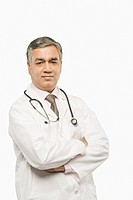 Portrait of a doctor standing