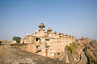 Ruins of a fort, Gwalior Fort, Gwalior, Madhya Pradesh, India