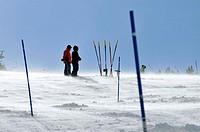Port del Comte ski resort. Lleida province, Catalonia, Spain
