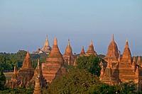 Field of pagodas of Bagan, Myanmar