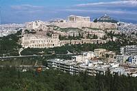Greece - Attica - Athens. Acropolis