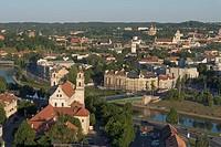 Lithuania - Vilnius. Old Town (Senamiestis). UNESCO World Heritage List, 1994. St. Raphael's Church