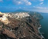 Greece - Southern Aegean - Cyclades Islands - Santorini. Fira.