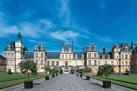France - Île-de-France - Fontainebleau. Palace of Fontainebleau (UNESCO World Heritage Site, 1981)