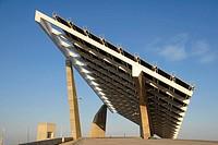 Photovoltaic pergola 3700 m2, Forum 2004  Barcelona  Spain
