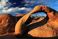 Mobius Arch, Lone Pine Peak, Mount Whitney, Lower,
