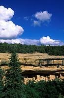 USA, Colorado, national park, cave, rock houses, r